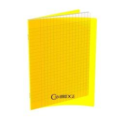 Cahier 96 pages Seyes 21x29.7 cm 80G - Polypropylène jaune