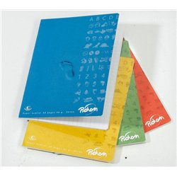 Cahier 90g 96 pages seyes 17X22 cm - Rouge