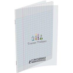Cahier TP piqûre 64 pages polypropylène 17x22 cm 120 g