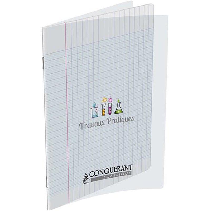 Cahier TP piqûre polypropylène 24x32 cm 120g 96 pages