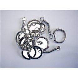 Anneau porte-clés métal (Sachet de 20)