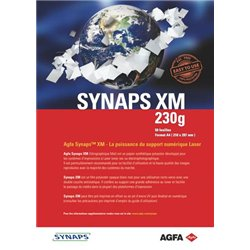 Feuille de couverture blanche 230 g 21x29.7 cm 200 microns (Paquet de 50)