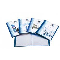 Reliure plastique personnalisable 10 volets transparents