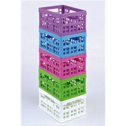 Pack de 5 petites caisses pliantes