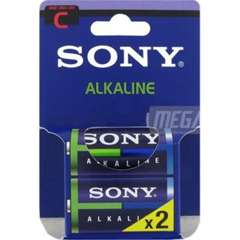 Blister 2 piles bâtons Sony