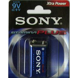 Pile carrée 9 volts Sony