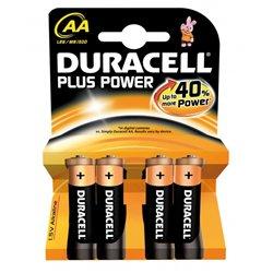 Blister 4 piles bâtons LR06 Duracell plus