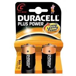Blister 2 piles bâtons LR14 Duracell plus