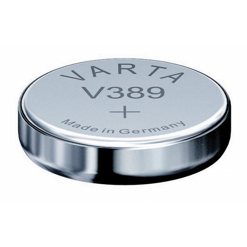Pile bouton oxyde d'argent LR1130 (389)