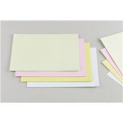 Fiche bristol A4 5x5 blanc (Paquet de 100)