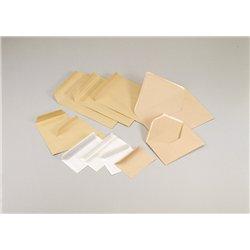 Enveloppe blanche autocollante Siligom 80g, 114x162 mm (Paquet de 50)