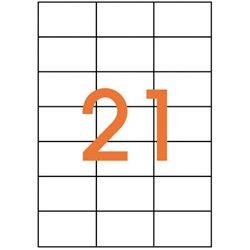 Étiquette adhésive 70x42.4 mm (Boîte de 2100)