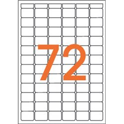 Étiquette 16x22 mm (Etui de 1152)