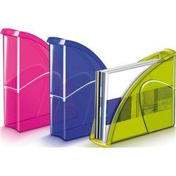 Porte-revues 'Happy', dim. 25x8x33 cm - Vert