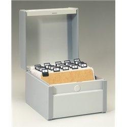 Boîte à fiches métal 10x15 cm en largeur