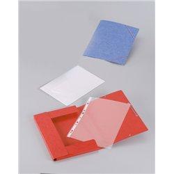 Paquet de 10 chemises 390g à élastiques pour format A4 assorties carte lustrée
