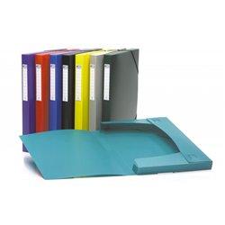 Chemise box polypropylène 7/10e format 25 x 32 cm dos de 25 mm