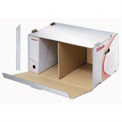 Container pour 6 boites archives dos de 8 cm  Format 54x36x27cm