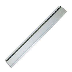 Règle plate aluminium anti-dérapante