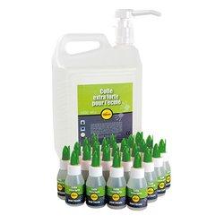 Schoolpack 24 flacons 50 ml + 1 flacon de 5 litres colle Pichon cré-action + 1 pompe doseuse