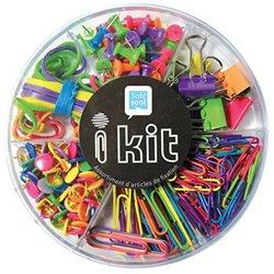 Kit d'articles de fixation couleurs assorties