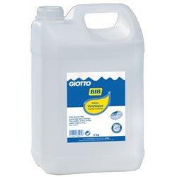 Flacon de 5 litres colle liquide vinylique Giotto Bib