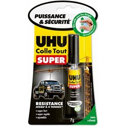 Tube de colle UHU 7 g Strong and Safe
