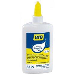Flacon de 118 ml colle liquide vinylique Giotto Bib