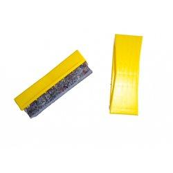 Brosse à tableau support plastique, feutre
