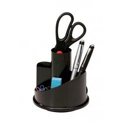 Pot à crayons rotatif à 7 compartiments
