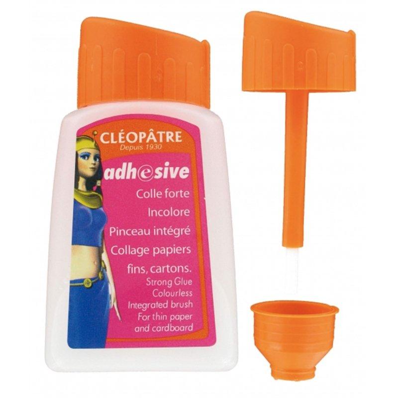 Flacon de colle liquide avec pinceau Cléopâtre 80 ml