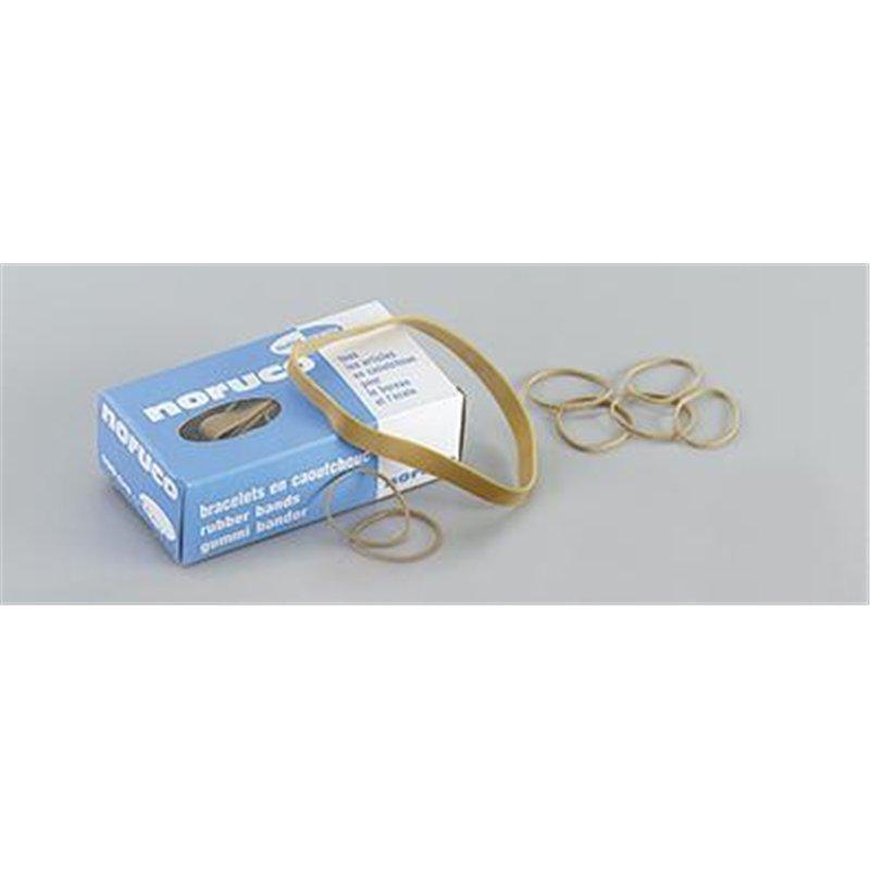 Boite 100g de bracelets élastique Ø 60 mm