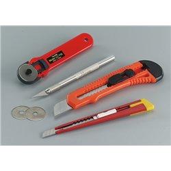 Présicut n°1 : cutter de précision alu, 16 cm