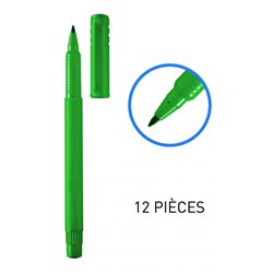 Feutres pointe moyenne nylon 1 mm - Vert