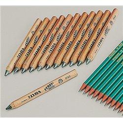 Crayon graphite gros module 12 cm Lyra (Etui de 12)