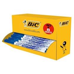 Pack collectivité 48 feutres Velleda pointe fine encre bleue