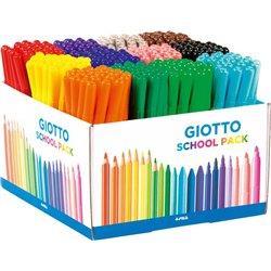 Maxi schoolpack 288 feutres Turbocolor Omyacolor Giotto