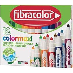 Etui de 12 feutres à colorier Color Maxi