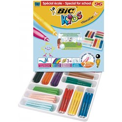 Classpack 96 feutres Visacolor Bic