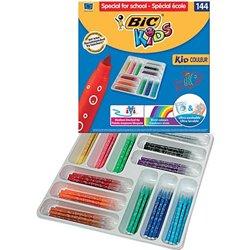 Classpack 144 feutres Bic Kids.