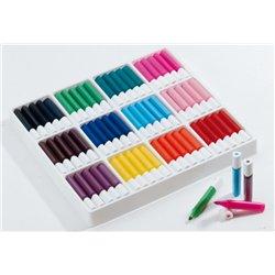 Classpack de 120 feutres couleurs assorties