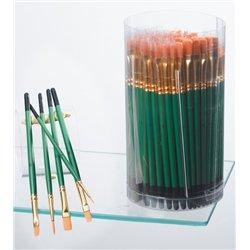 Schoolpack 144 pinceaux poils synthétiques Pichon
