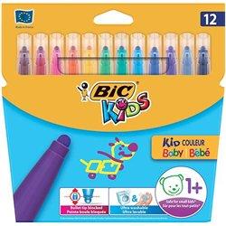 Etui 12 feutres Baby Bic Kids