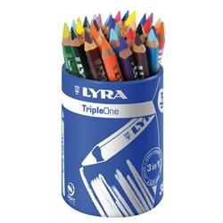 Pot 36 crayons Triple One Ferby Ø mine 6,25 mm
