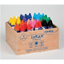 Boîte 48 craies à la cire Lyra