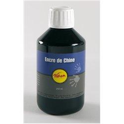 Flacons 250 ml encre de chine noire pichon