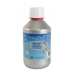 """Flacon 250ml encre à dessiner à base d'eau """"aquatint"""" - argent"""