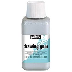 Drawing gum 250 ml pébéo gomme de réserve