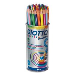 Pot 48 crayons couleurs Giotto Stilnovo Aquarellables