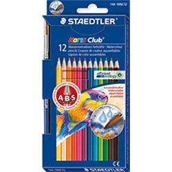 Etui 12 crayons couleurs aquarellables Noris Club